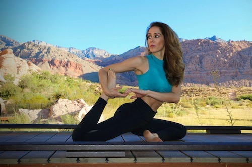 a day as a yoga teacher
